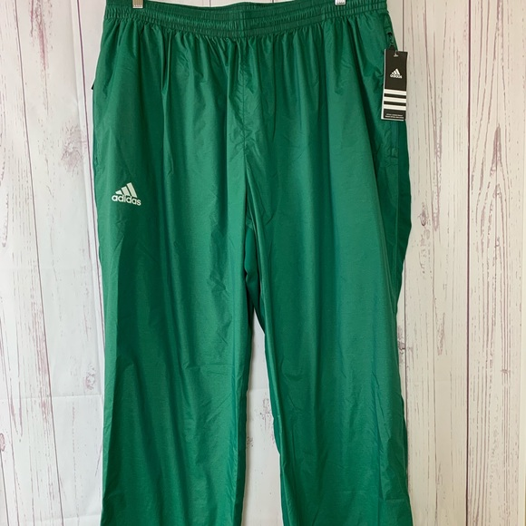 4e02a266f4f3 Adidas Men s MV Woven Green Pants Size 2XLT